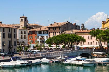 landkarte italien gardasee