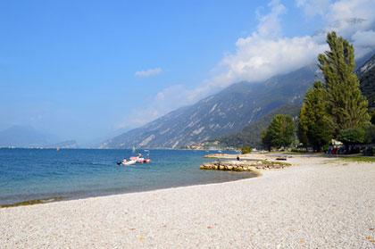 gardasee strand karte Strände am Gardasee   Die schönsten Strände am See